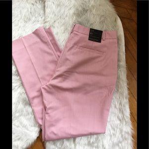Banana Republic NWT RYAN Curvy Fit pants Pink 10